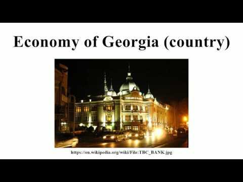 Economy of Georgia (country)