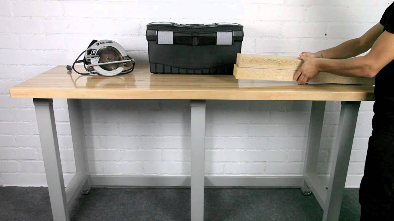 ultrahd workbench from seville classics - youtube