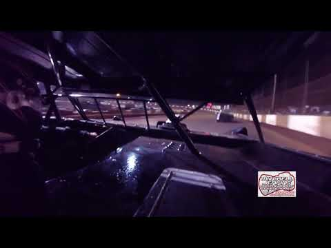 Mike Bruner Crate Latemodel In-Car Dixie Speedway 8/12/17!