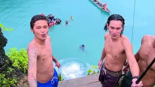 My Trip My Adventure - Lompat Dari Ketinggian 7 Meter Di Ohoi Letman  1/4/18  Pa