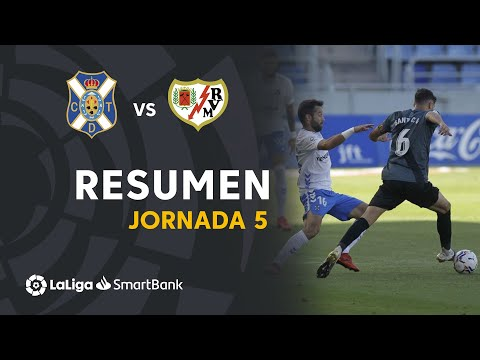 Tenerife Vallecano Goals And Highlights