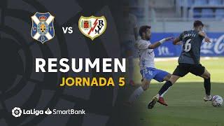 Resumen de CD Tenerife vs Rayo Vallecano (1-0)
