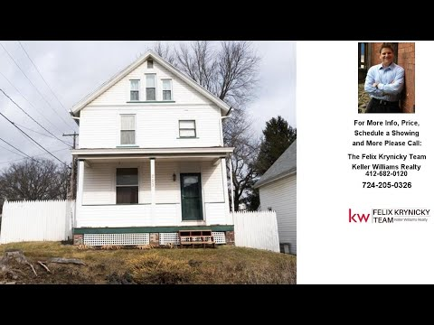 203 Hook St, Mars Boro, PA Presented by The Felix Krynicky Team.