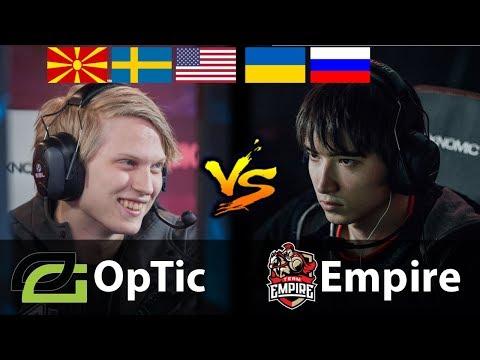 OpTic vs Empire - [ROG MASTERS 2017 - EPIC GAME!] - Dota 2 7.07c