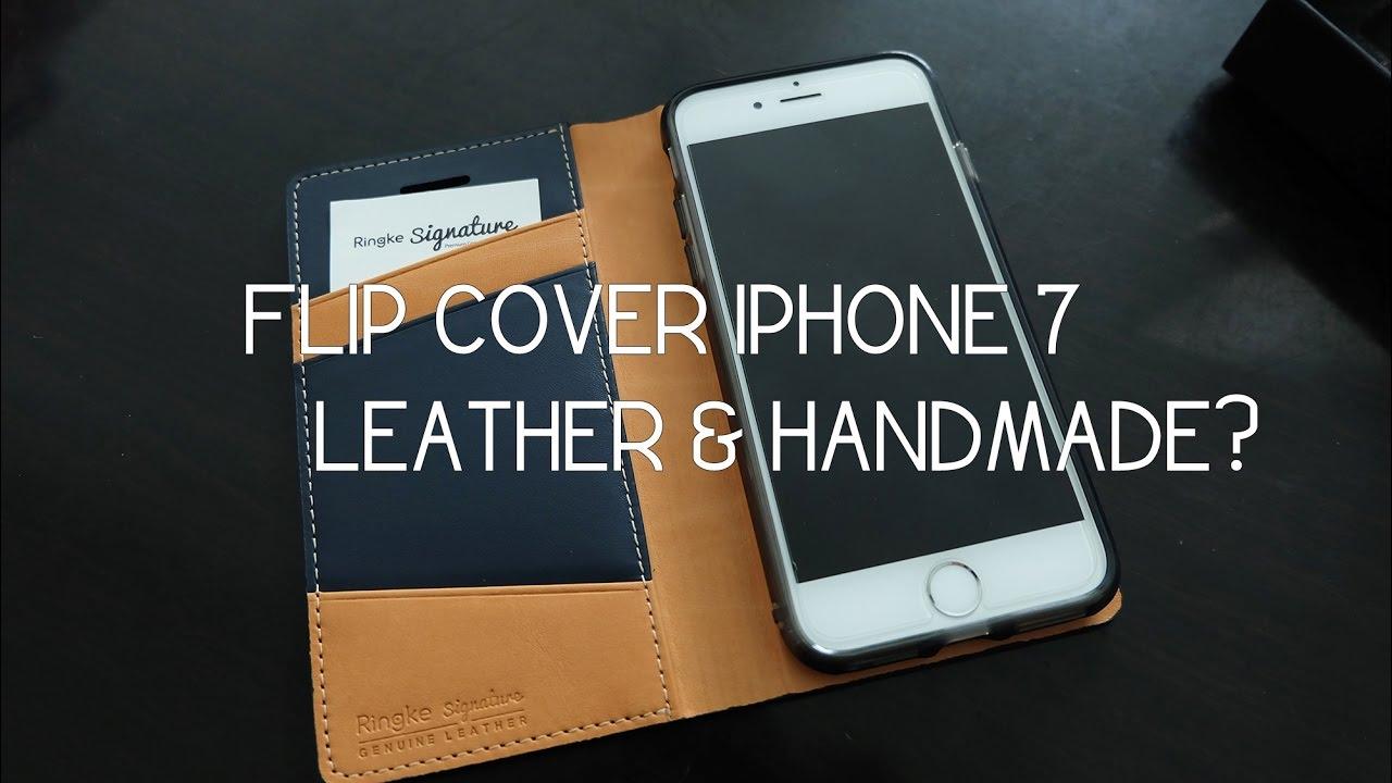 new arrival c3205 c8952 Case Flip Cover iPhone 7 Bahan Kulit Premium HandMade - Ringke Signature  iPhone 7