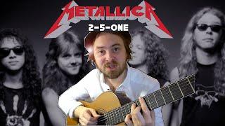 when a jazz guitarist plays 'ONE' by METALLICA