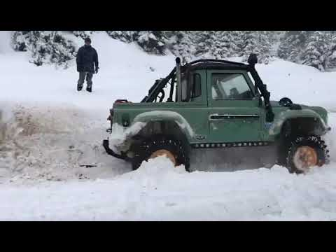 LAND ROVER DEFENDER 95 MERCEDES OM606 SÜPER DİESEL BİG TURBO [HD]