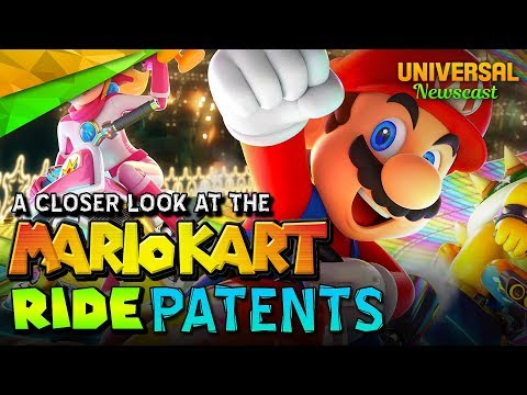 A Closer Look At The MarioKart Ride Patents - Universal Studios News 08/16/2017