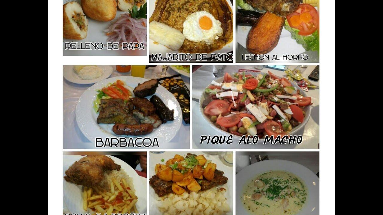 Comida boliviana  YouTube