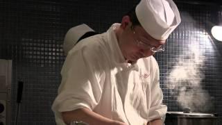 3 Michelin star Esaki at service in Tokyo