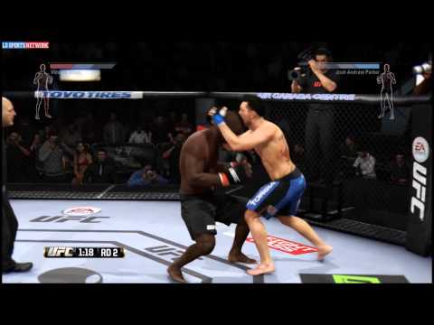 [MMA] Omizu vs Andrew-Parker FMMA 1 (UFC PS4)