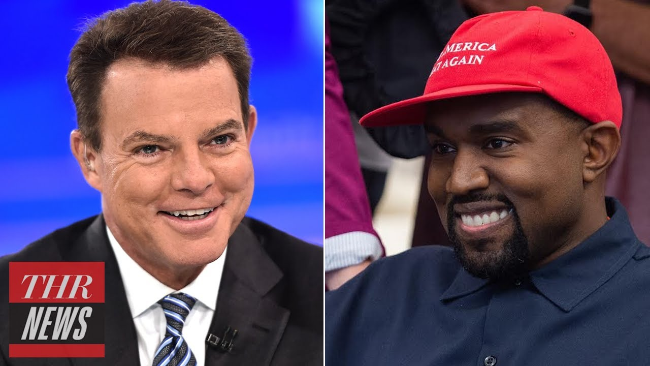 Kanye West Claims He's Done With Trump, CNBC Hires Former Fox News Anchor Shepard Smith | THR News