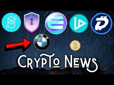 Bitcoin Golden Cross Expectation | Enjin Mainnet | Digibyte Partners Safe Haven | V-ID | IBM