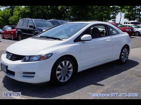 2010 honda civic ex l coupe youtube. Black Bedroom Furniture Sets. Home Design Ideas