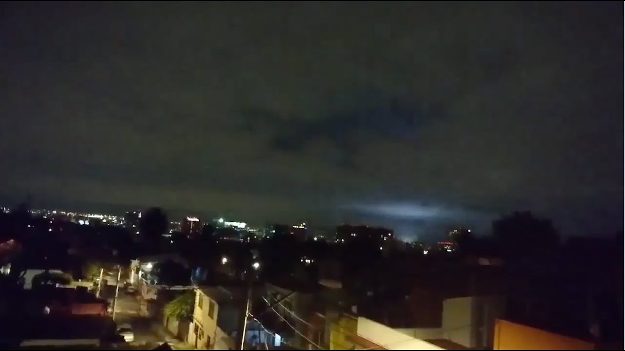 Strange Earthquake Lights Spotted After Deadly Mexico
