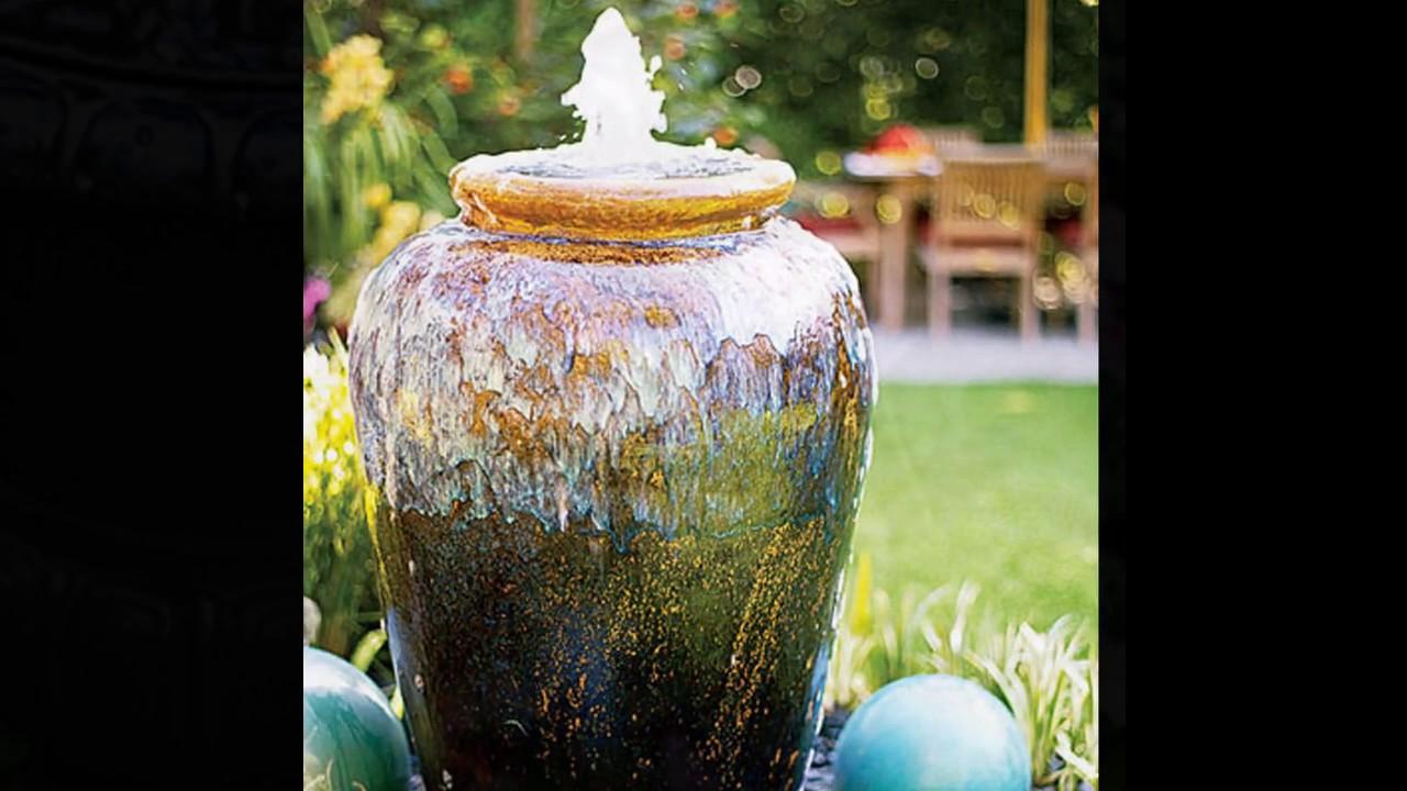 Idées de conception de fontaine de jardin - YouTube
