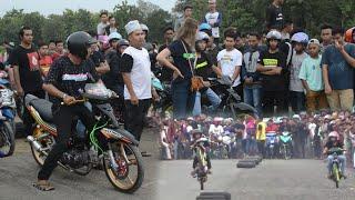 Download Mp3 Drag Race Jupiter Membawa Bunga Mawar Saat Drag