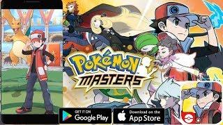 Pokemon Masters - первый взгляд, обзор (Android Ios)
