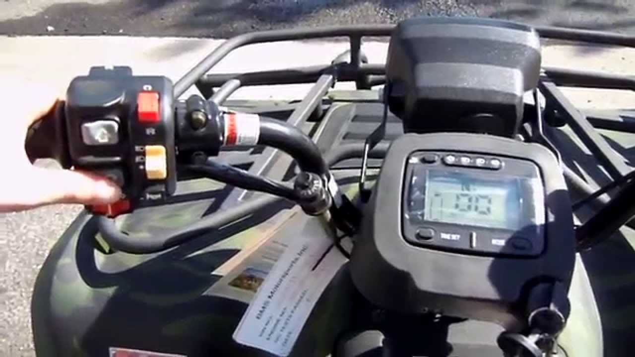 400cc utility atv youtube