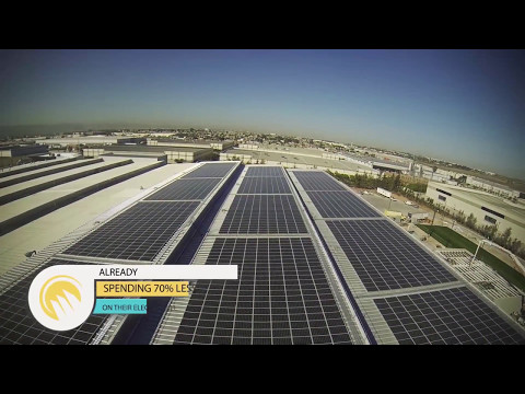 Solar Panels Plantronics Tijuana by 3Tek SOLAR 1 min English