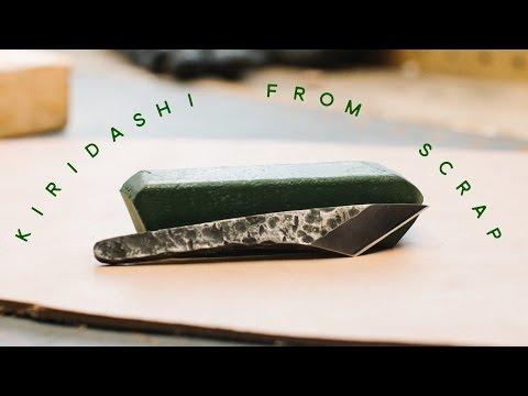 How to make a custom knife - Kiridashi - Maker Movement