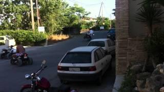 Mad quad bike skills in Zante !!!