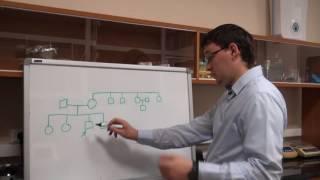 Анализ родословных. Урок 3. Задача 7.1 (быстрый разбор в конце видео)
