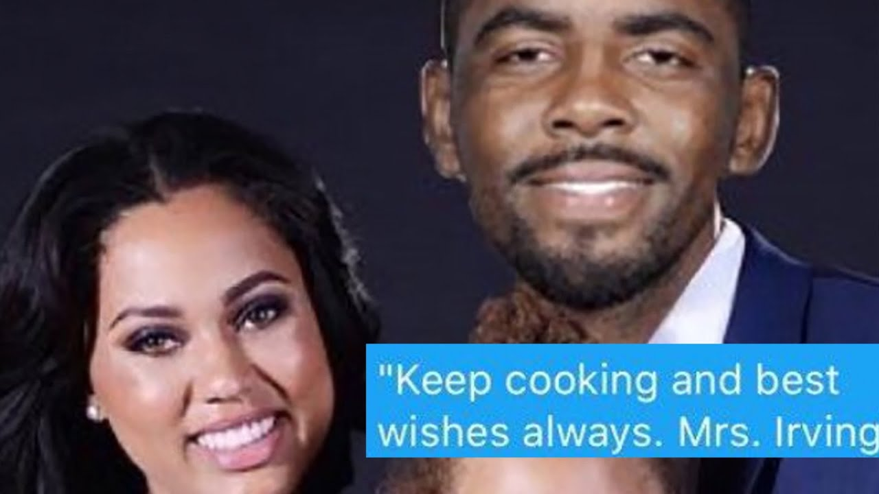 bacd6a3cec2 Ayesha Curry Blocks Cavs Fan After Calling Her Mrs. Irving - YouTube