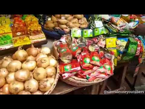 Sierra Leone Street Market | Life in Sierra Leone | Sierra Leone Youtubers