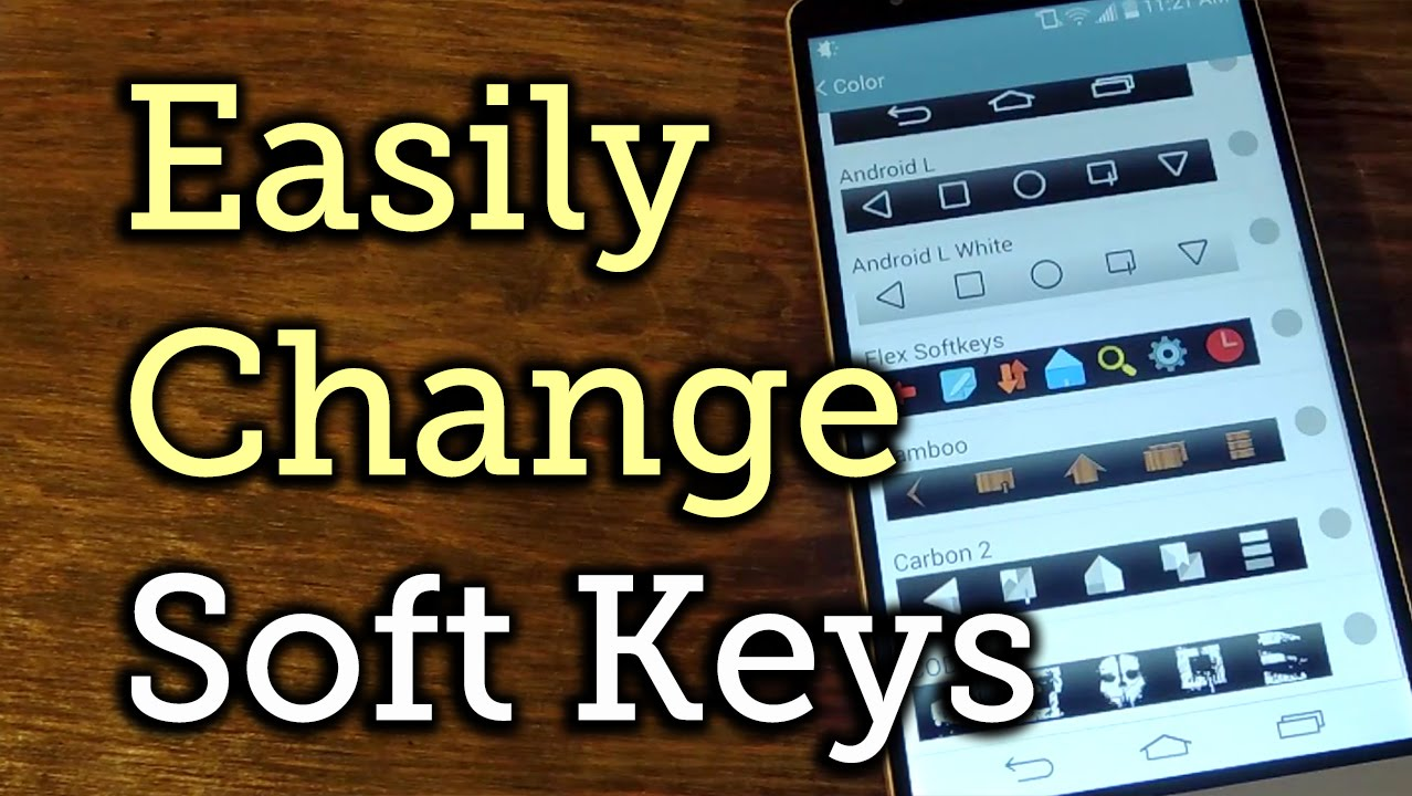 How to Add More Soft Key Styles to Your LG G3 (No Root
