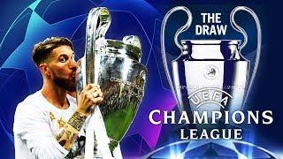 CHAMPIONS LEAGUE & EUROPA LEAGUE DRAW - MY REACTION!