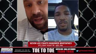 Frank Trigg interviews UFC Belfasts' Kevin Lee