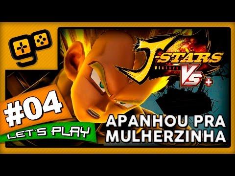 Let's Play: J-Stars Victory VS+ (LUFFY) - Parte 4 - Vegeta apanhou pra Mulherzinha!