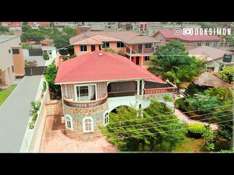 Inside a $260,000 Beautiful 4 Bedroom House For Sale in Sakumono, Accra Ghana
