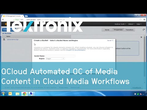 QCloud Automated QC of Media Content in Cloud Media Workflows | Tektronix