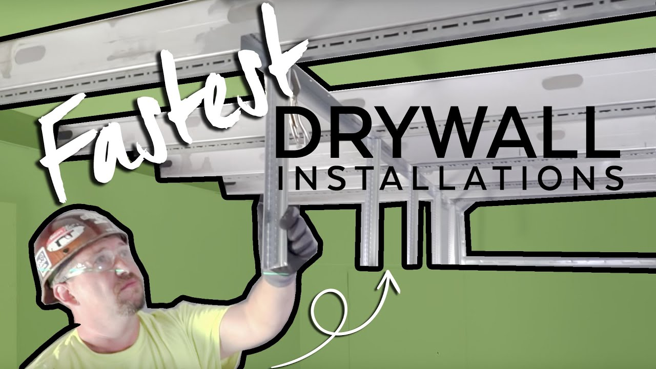Fastest Drywall Ceiling Installations Armstrong Ceiling