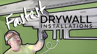 Fastest Drywall Ceiling Installations | Installation How to | Armstrong Ceiling Solutions