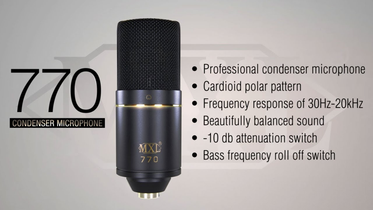 MXL WS002 Wind Screen for Large Grill Microphones