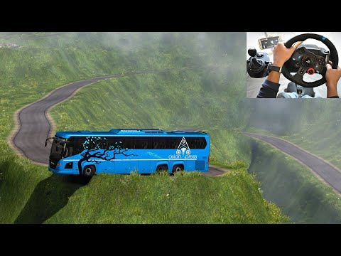 Scania Thrilling Bus Driving | Indian Driver | Euro Truck Simulator 2 With Bus Mod