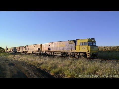 2PM5 Pacific National Freight Train - PoathTV Australian Railways