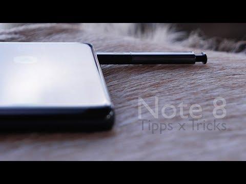 Samsung Galaxy Note 8 - die 20+ besten Tipps, Tricks und Hidden Features (Deutsch)