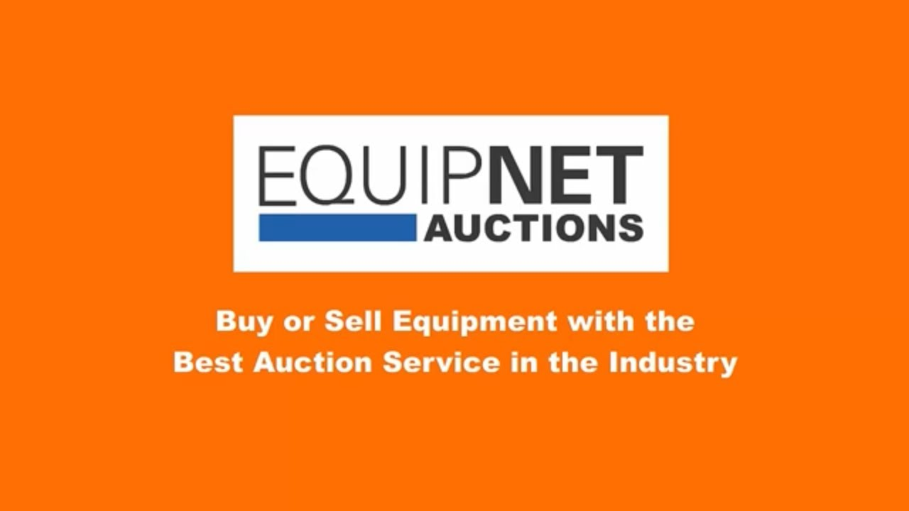 Equipnet Auctions Buy Or Sell Equipment With The Best Auction