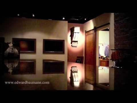Video Tour of Edward Baumann Clothiers New Showroom in Addison, Texas