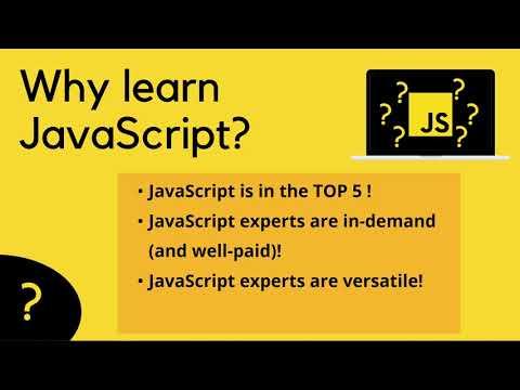 Full Beginner JavaScript Course Announcement | Why learn JavaScript