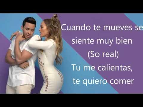 Prince Royce - Back It Up Spanish Version Ft Jennifer Lopez & Pitbull [Letra español/LYRICS]