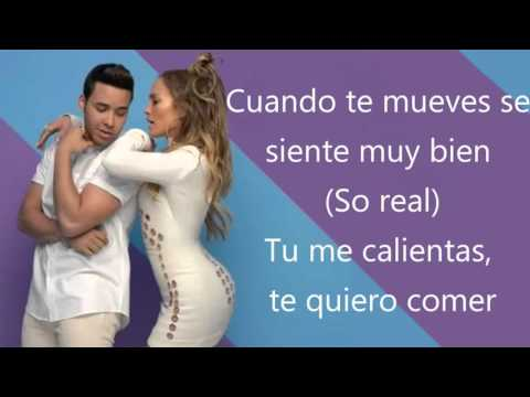 Prince Royce - Back It Up Spanish Version Ft Jennifer Lopez & Pitbull [Letra español/LYRICS]