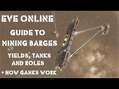 Eve Online Guide to Mining Barges Yields, Tanks and Roles. Inc Know You Enemy: How Ganks Work