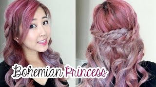 Bohemian Princess Hair