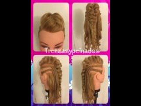 Peinado con Trenza Recogido Rockabilly – Rockabilly Braid Hairstyle