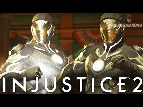 "Legendary Power Of The Black Lantern! - Injustice 2 ""Green Lantern"" Legendary Gear Gameplay"
